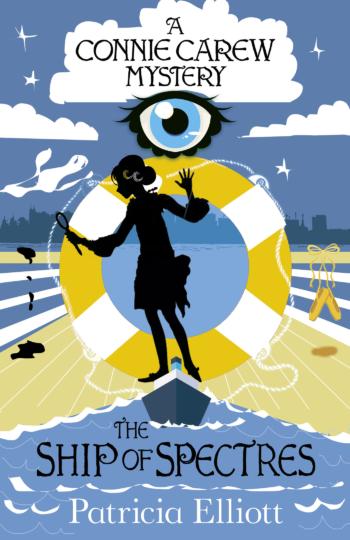 'The Ship of Spectres' by Patricia Elliott, a Poppy Carew mystery