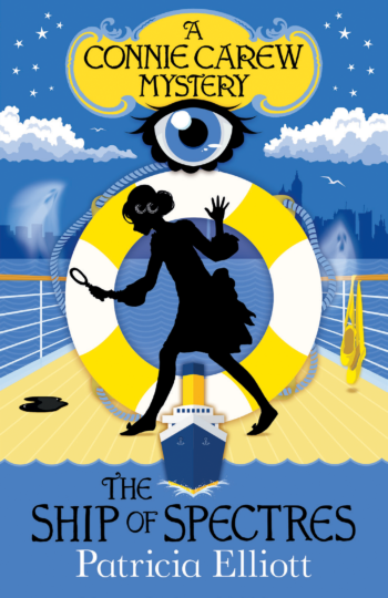 The Ship of Spectres, a Poppy Carew mystery by Patricia Elliott