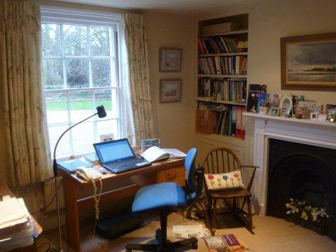 Photo of Patricia's study